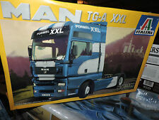 ITALERI /24th SCALE MAN TG-A-XXL TRUCK KIT # 3811 FACTORY SEALED
