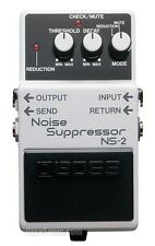 Boss NS-2 NS2 Noise Gates Guitar Pedal New