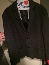 Elie Tahari Men's Charcoal Blazer MSRP $395