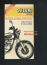 Suzuki GT125 L M A B 1974-1977 Pitmans Work Shop Manual Book GT 125 Ram-Air Twin