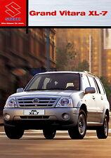 Prospekt 2003 Suzuki Grand Vitara XL-7  8 03  car brochure Autoprospekt Auto Pkw