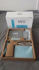 RARE Nintendo Wii Limited Edition Blue Console Tested Working!
