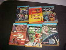 Set of 6 Ace Doubles PBs D series Jack Williamson Clifford Simak John Brunner