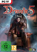 Drácula 5-The Blood Legacy (PC, 2013, DVD-box)