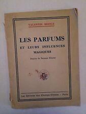 LES PARFUMS ET LEURS INFLUENCES MAGIQUES 1942 COLLECTION UNIVERSELLE N°5 BRESLE