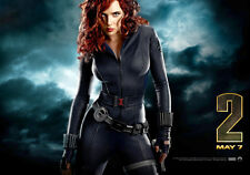 Sexy PHOTO 8.25x11.75 Scarlett Johansson Black Widow movie Iron Man 2 #10