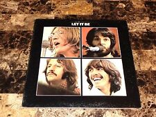 The Beatles Rare Let It Be Vinyl LP Record Paul McCartney John Lennon Ring Starr