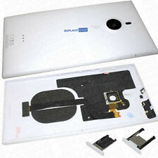OEM Nokia Lumia 1520 Rear Battery Cover Assembly Cables Tray OEM White