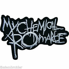 My Chemical Romance Sew Iron on Patch Embroidered Vest Jacket T Shirt Hat #S016