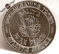 $1 SLOT TOKEN COIN BALLY'S PARK PLACE CASINO 1981 ATLANTIC CITY NEW JERSEY RARE