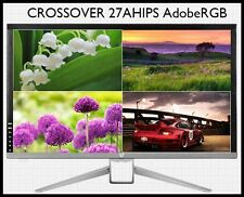 "New Crossover 27AHIPS Adobe RGB 27"" Monitor WQHD 2560X1440 DP/HDMI/DVI"