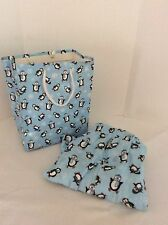 Men's Large Boxer Shorts Penguins With Matching Gift bag Cotton