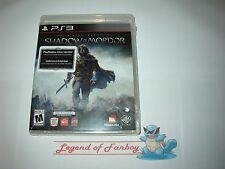 * New Sealed * Middle Earth: Shadow of Mordor - PlayStation 3 ps3 w/ Dark Ranger