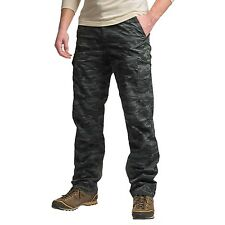 New Men`s Columbia Silver Ridge Printed Cargo Pants Camo Print MSRP$65