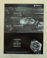 E742- Advertising Pubblicità -1995- TAG HEUER SERIE 6000 CHRONOMETER