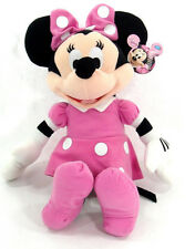 "Licensed DISNEY  Clubhouse MINNIE MOUSE Soft PLUSH DOLL Toy 16"" PINK Best Gift"