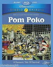 POM POKO BLU-RAY / DVD - ISAO TAKAHATA - DISNEY - AUTHENTIC US RELEASE