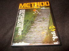 Rare METHOD SNOWBOARD DVD MAG V4.1 Snowboarding Ronnie Anderson & Danny Wheeler