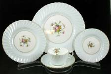 Minton DAWN BLUE 5 Piece Place Setting S438 GREAT CONDITION