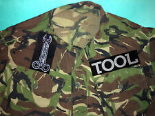 Tool Undertow Opiate Ænima Lateralus Sober Salival Camouflage Army Shirt Jacket
