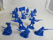 IMEX Civil War Union Infantry 1/32  blue,(54MM) 12 Toy Soldiers