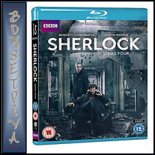 SHERLOCK - COMPLETE BBC SERIES 4 - FOURTH SERIES *BRAND NEW BLU-RAY***