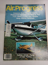 Air Progress Magazine Cessna's New Muscle Hawks October 1976 121416R