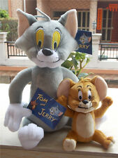 Cartoon Fan Toy Anime Tom and Jerry Cat Mouse Soft Cute Stuffed Plush Doll Set