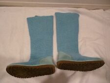 Women's Ugg Australia Turquoise Classic Cardy Tall 3 button Boots  #5819 SZ 6