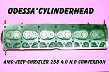 AMC JEEP CHRYSLER 258 4.0 H.O CONVERSION CYLINDER HEAD REBUILT NO CORE