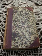 """1855 Blackwood Magazine July-Dec. 9 3/4"""" x 5 3/4"""" Book Sold in As/Is Condition"""
