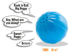 BABBLE BALL Large Dog Toy talks when rolled TRY ME pet toy