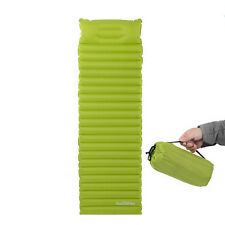 Air Inflatable Self-Inflating Camping Mat Pillow Sleeping Pad Mattress Bed Green