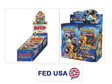 JAPANESE Pokemon CP6 Booster Box + ENGLISH Evolutions Booster Box Bundle Sealed