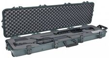 PLANO MOLDING C All Weather Double Scoped Gun Case With Wheels And Pluckable ...