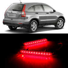 2x LED Rear Bumper Reflector Surface emission Light For Honda CRV 2010-2011