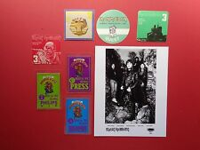 IRON MAIDEN,promo photo,7 Backstage passes,Rare Originals,Various Tours