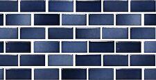 1 SAMPLE of Indigo Porcelain Tile for Wall Back Splash Pool Kitchen Bathroom