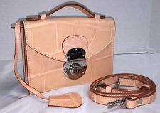 Vintage~Dooney & Bourke*ALTO*Peach*Croco*Cross Body/Handbag/Shoulder Bag*Clutch
