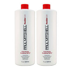Paul Mitchell Flexible Style Fast Drying Sculpting Spray liter 33.8 oz Pack of 2