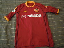 maglia shirt AS ROMA kappa 2002/03 numero 33 BATISTUTA match worn indossata?