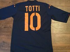 2003 2004 ROMA TOTTI AWAY FOOTBALL SHIRT Adulti XL Top Maglia Italia