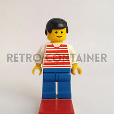 LEGO Minifigures - Man - hor001 - Horizontal Stripes Omino Minifig Set 6592