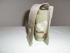 MULTICAM SPECIALTY POUCH HOLDER CASE 40mm SINGLE NEW USA MILITARY ISSUE ACU