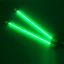 "2PCS Green 12"" CCFL Cold Cathode Car Interior Lights Kit PC Bright US Delivery"