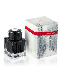 MONTBLANC SPECIAL EDITION WINTER GLOW RED INK IN BOTTLE NEW IN BOX