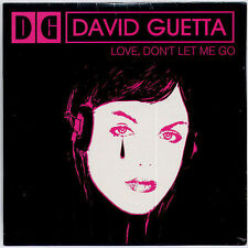 DAVID GUETTA Love, Don't Let Me Go 2002 French 2-trk promo CD SEALED