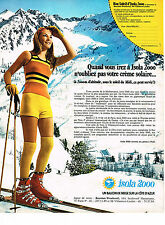 PUBLICITE  1971  BOURDAIS-WEARTHERALL   ISOLA 2000   station ski