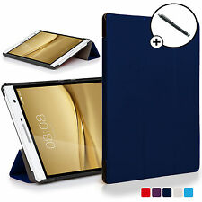 Blue Folding Smart Case Cover Huawei MediaPad T2 7.0 Pro / M2 7.0 Stylus