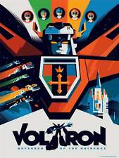 VOLTRON TRANSFORMERS TOM WHALEN Limited edition print #200